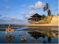 A famosa e bela Praia de Genipabu