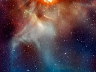 Foto da constelação de Orion