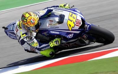 Valentino Rossi em GP de Motociclismo