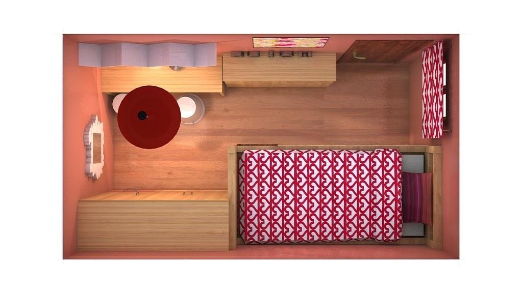 El cuaderno del decorador proyecto para lorena for Pared de habitacion decorada