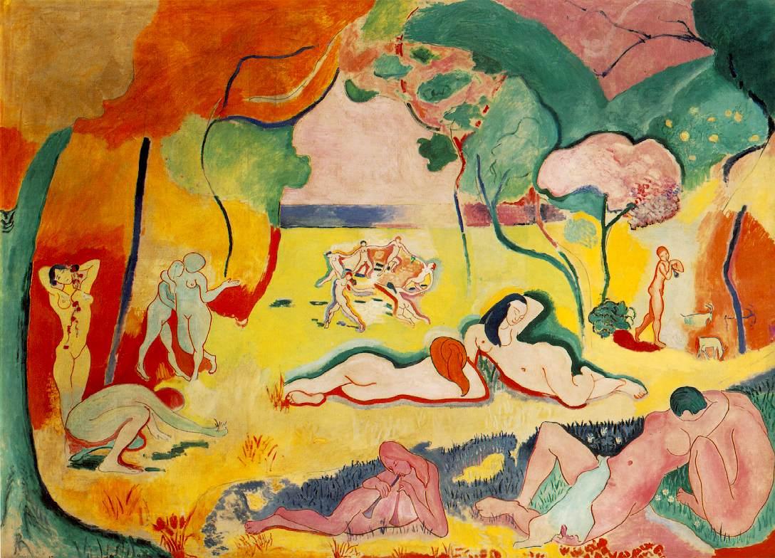 henri matisse, la bonheur de vivre (the joy of life), 1906