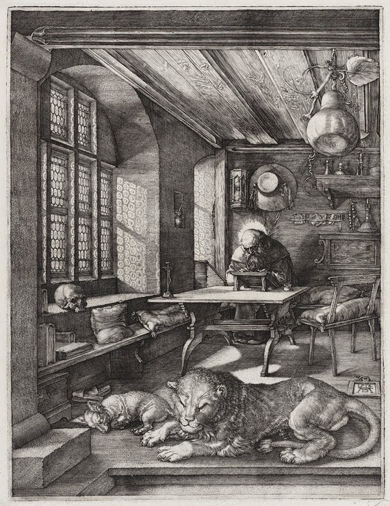 Albrecht Dürer, Saint Jerome in his Study, 1514