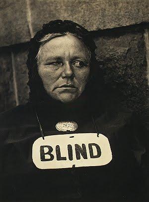 Paul Strand, 'Blind', 1916