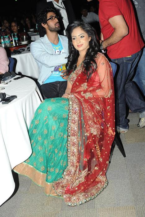 nikesha patel at scope cine awards cute stills