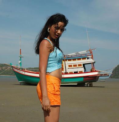 Nisha Kothari Beach
