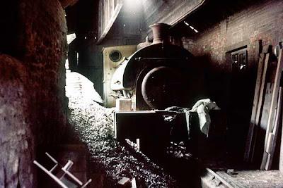 Elizabeth at Mountsorrel Quarry before being rescued for preservation.