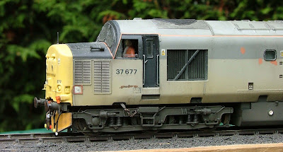 A model of 37 677 based on Bachmann's latest version of the class 37