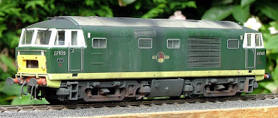The Hymek just requiring headcoes and coupligs - even without these you can see that the overall look is spot and and very convincing.