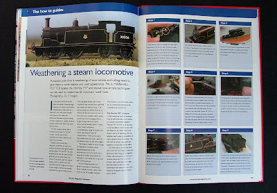 Paul Marshall-Potter's guide to basic weathering of steam locomotives.