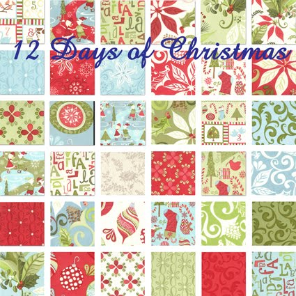 www.TheQuiltedCastle.com: 12 Days of Christmas by Kate Spain - Moda ...