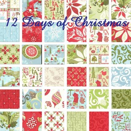 12 days of christmas layer cake