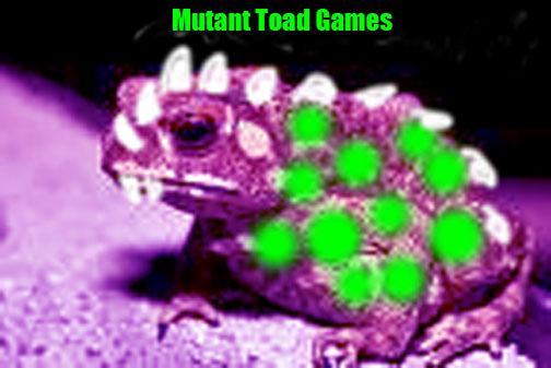 mutant toad games