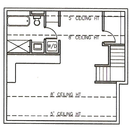 The auntie flat for Adu floor plans