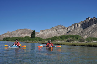 River Kayak Expedition in Patagonia