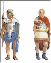 Reconstituire imagine legionar roman