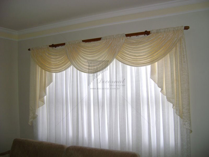 Cortinas para salas de apartamentos for Modelos de cortinas para salas