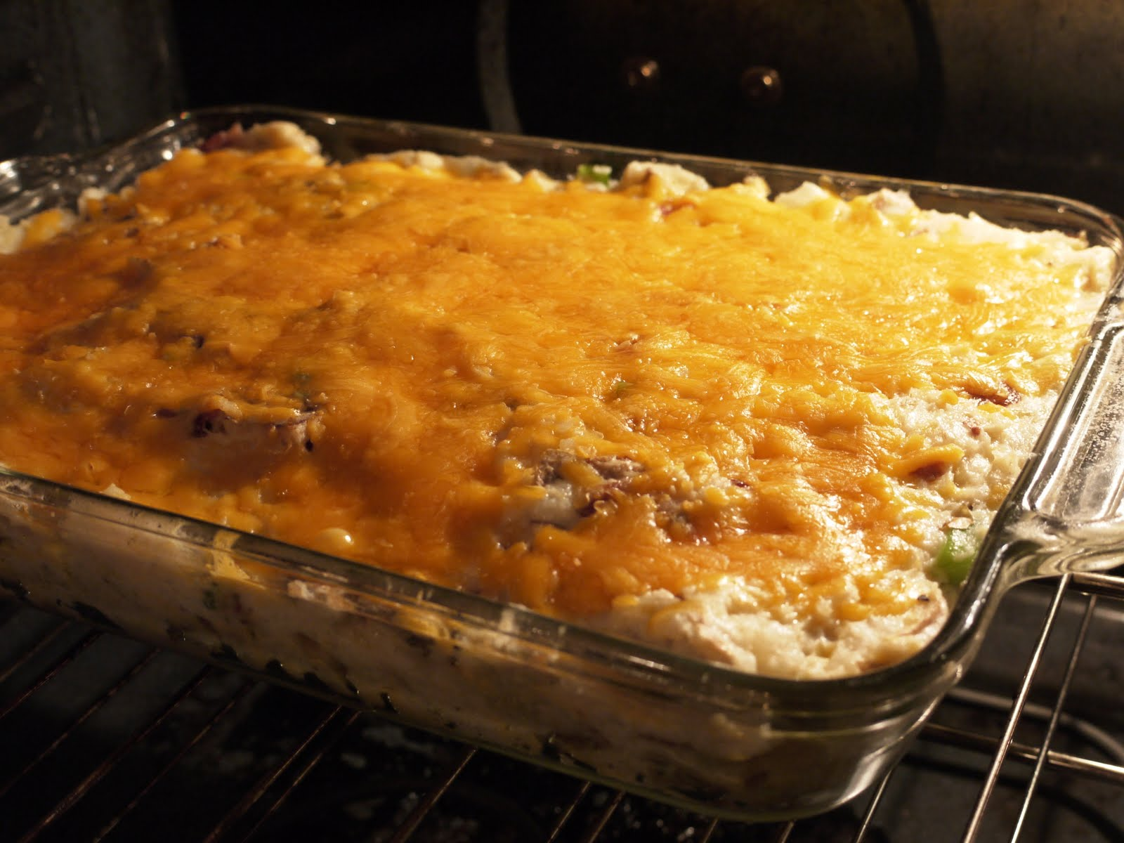 The Bad Girl's Kitchen: Twice-Baked Potato Casserole