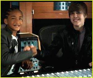 Jaden Smith  Justin Bieber on Filme Autobiografia De Justin Bieber Chega Aos Cinemas Em 2011