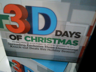 Sony 3D Days Of Christmas