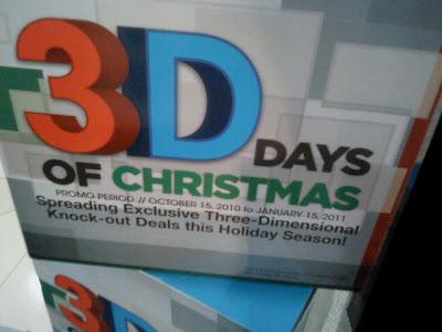 Sony 3D Days Of Christmas