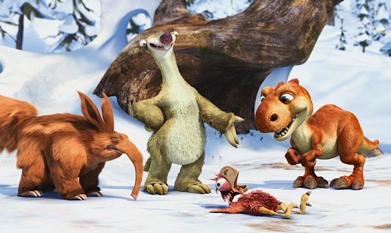Ice Age 3: Dawn of the Dinosaurs, Photograph
