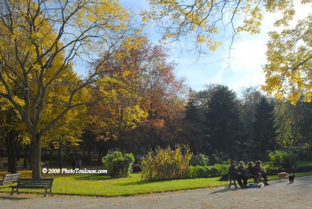 Jardin Public Compans Cafarelli Toulouse