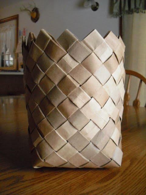 Kingdom Krafts Paper Bag Basket