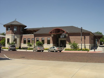 The new library of Seward, Nebraska. The image was taken from Flickr, sewardlibrary, 389445488_bb3d49e8c9