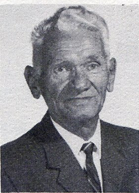 Herman Shmieding, sixth-grade teacher at St John Elementary School in Seward, Nebraska. The image was scanned from the faculty page in the the 1965-1966 yearbook.