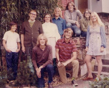 Sylwester family in Eugene. The image was scanned from a family photograph.