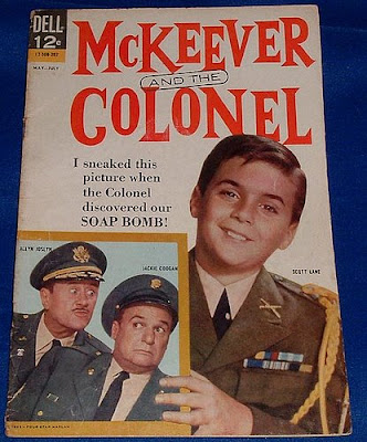Poster for the TV serial McKeever and the Colonel. Image taken from http://www.flickr.com/photos/30812439@N05/3055911593