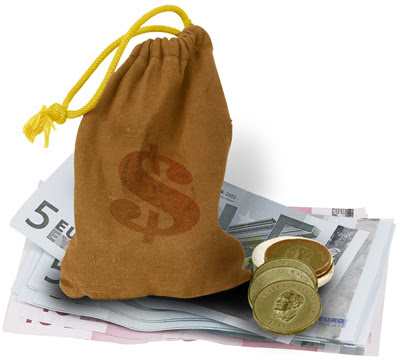 Drawsting money bag. Image from http://www.fengshuilogy.com/?p=46