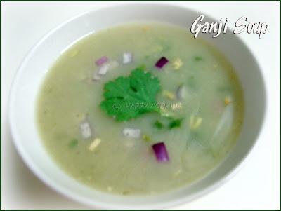 how to make ganji soup