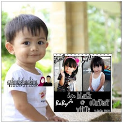 Baby In Black @ White Contest by Mama_Balqis