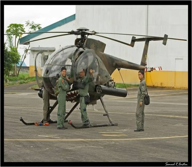 Air Force Philippine Attack Helicopter