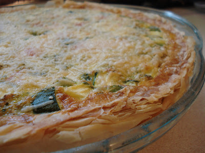 The Holistic Chef: Vegetable Quiche with Spelt Fillo Crust