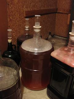Calvados Sour Tripel in Secondary