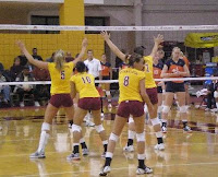 Gophers Volleyball Game
