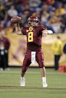 Gopher quarterback Adam Weber