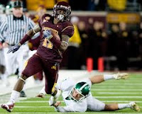 Minnesota Gopher Troy Stoudermire