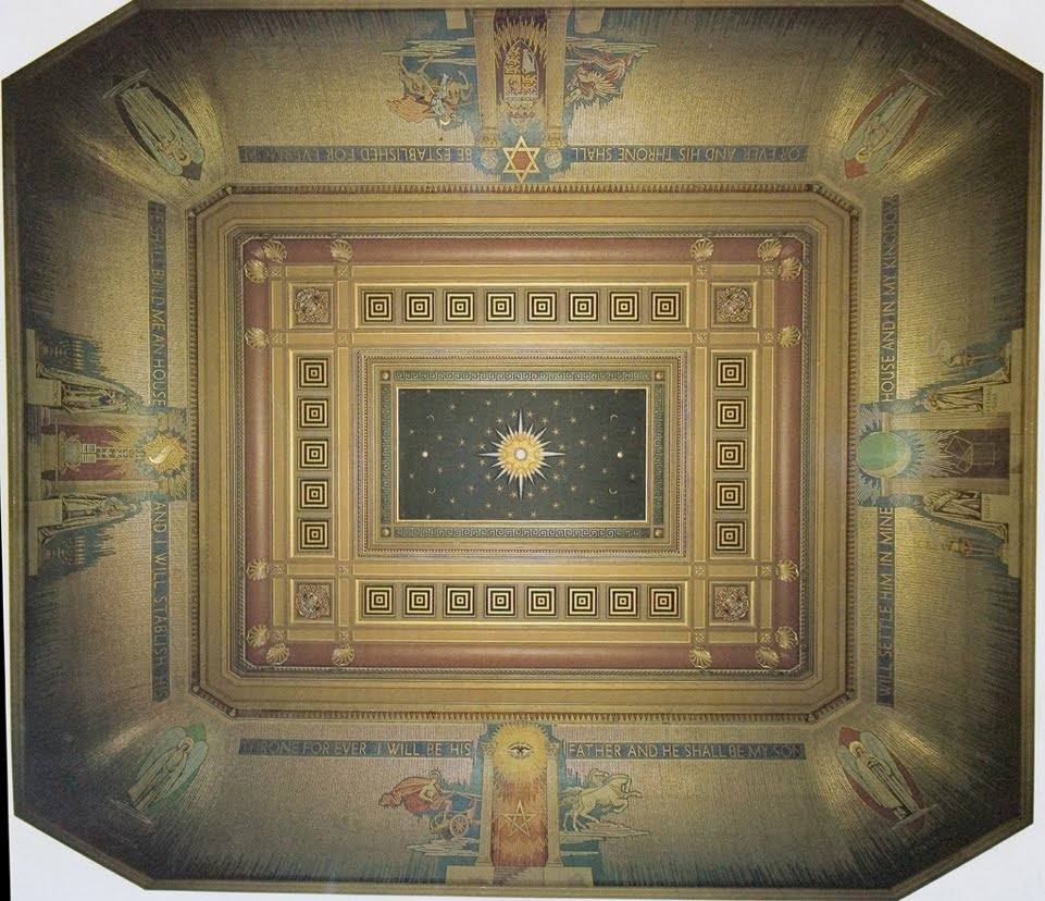 Masonic Temple Ceiling