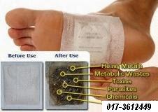 DETOX FOOT PATCH PALING MURAH &  BERKESAN RM0.85/PC