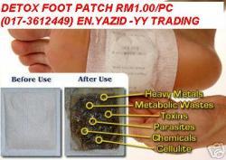 DETOX FOOT PATCH RM0.45/PC...