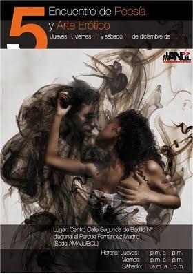 V Encuentro de Poesía y Arte Erótico Cartagena de Indias 2010