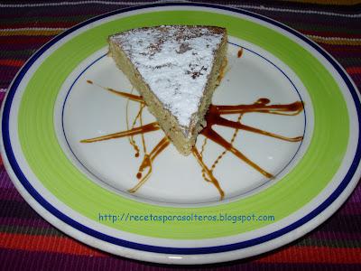 Tarta De Santiago O Tarta De Almendra Cocina Para Solteros