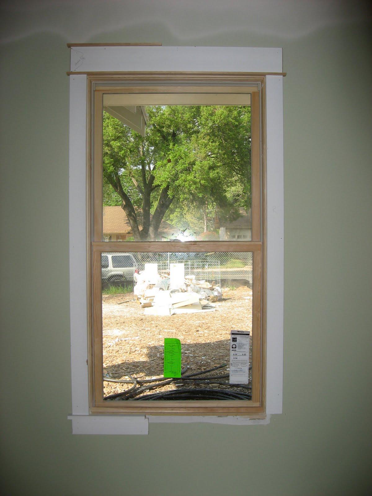 modern interior window trim viewing gallery