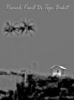 Rumah kecil di tepi bukit