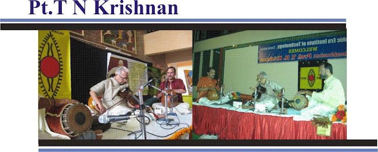 TN krishnan