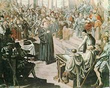 Lutero, o pai da reforma protestante.
