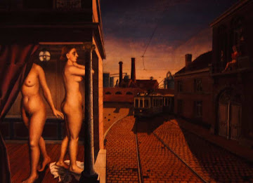 The Tram by Paul Delvaux